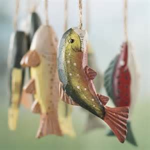 wood fish ornaments christmas ornaments christmas and