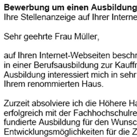 Bewerbungsschreiben Ausbildung Marketingkommunikation Bewerbung Kaufmann Frau Speditionsdienstleistung Azubi Vorlagen De