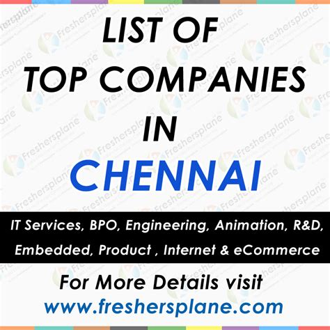 Mba Openings In Chennai by Opportunities For Mca Freshers In Chennai Dizijobs