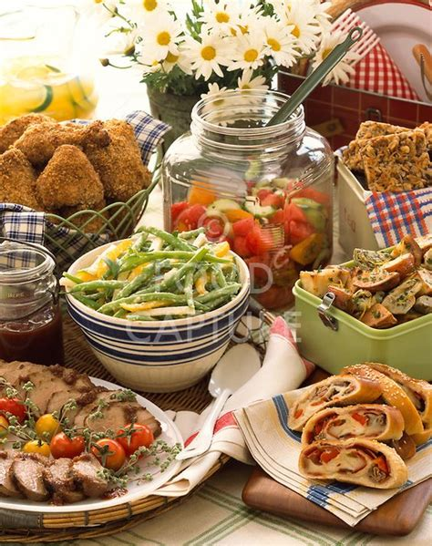 summer outdoor picnic buffet table popular pintastic