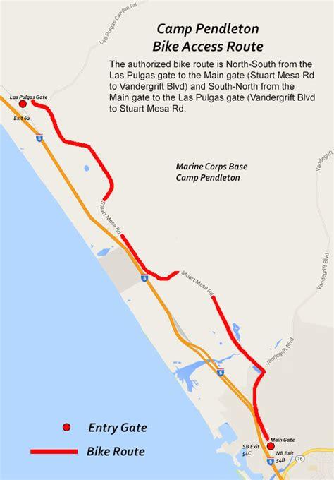 c pendleton housing map marine corps base c pendleton gt about gt base information gt base access