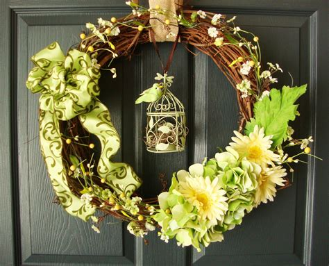 How To Make Front Door Wreaths Wreaths By Homehearthgarden Etsy Wreaths Front Door Wreaths Wreaths Easter