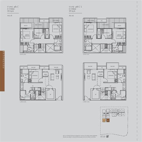 midtown residences floor plan penthouse 4 bed 1 the midtown and midtown residences