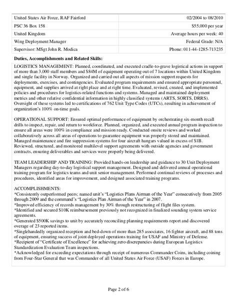 Sle Resume For Usajobs by Berman David Usajobs Resume 28 Images Berman David Usajobs Resume Data Governance Fase