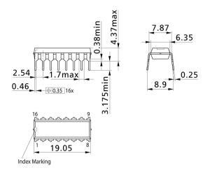 Analog Multiplexer Cd4053 Mux 4053 4053b standard cmos analog multiplexer demultiplexer williges elektronik service gmbh