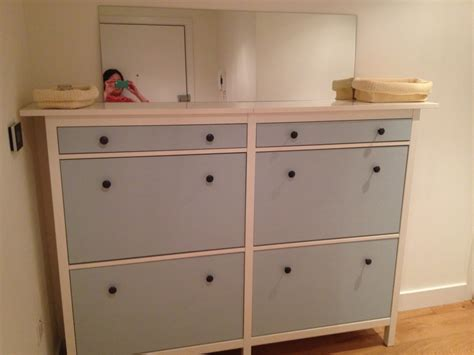 ikea hemnes shoe cabinet hack wedded hemnes shoe cabinets twined and painted ikea
