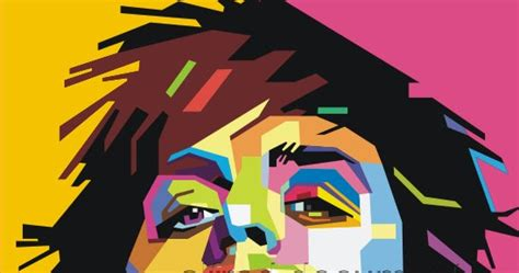 tutorial wpap corel x4 karya wpap billie joe menggambar vektor