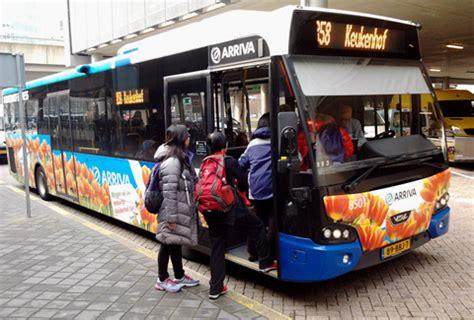 route bus 858 to lisse, keukenhof