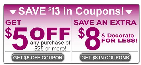 home decor coupons family dollar new coupons and savings on home decor