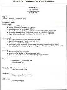 Homemaker Resume Sle by Aide Resume Sales Aide Lewesmr