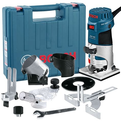 Router Bosch Gkf 600 bosch gkf 600 1 4 palm router laminate trimmer kit inc
