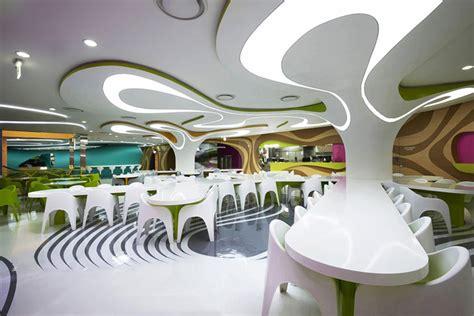 karim rashid interior design karim rashid s lotte amoje foodcapital a kaleidoscope of