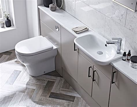 slimline fitted bathroom furniture add value to your bathroom without breaking the bank