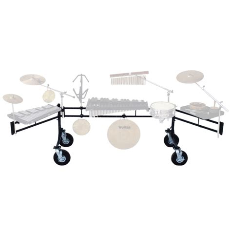 Percussion Rack front ensemble racks marching band lone percussion