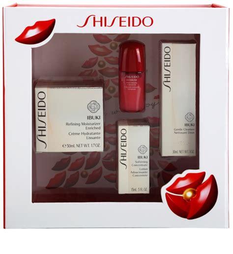 shiseido ibuki kosmetik set iv notino de