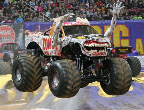 zombie monster jam truck the top 10 coolest monster jam monster trucks america