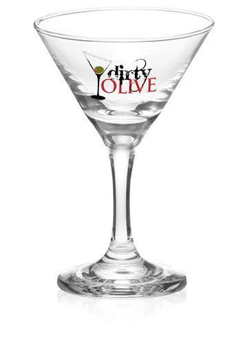 Print #DG87 4 oz. Mini Sampler Wholesale Martini Glasses