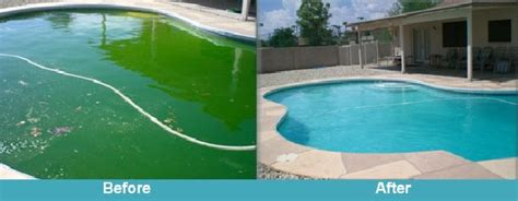Backyard Pool Turning Green Mackay Pools Your Green Pool Recovery Experts