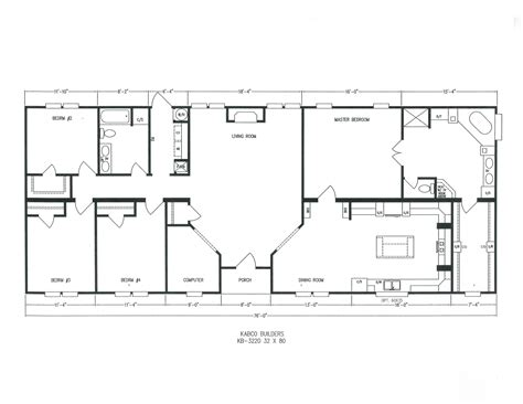 Platinum Homes Floor Plans by Kb 3220 Kabco Builders