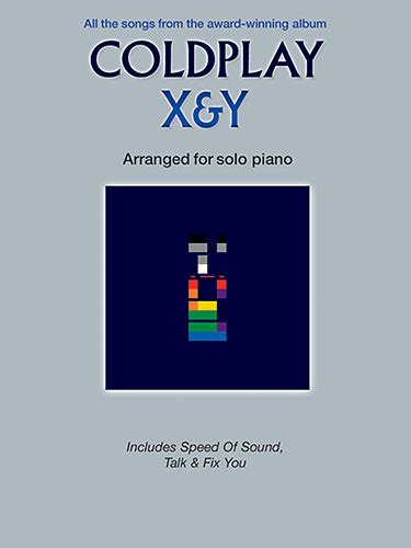 coldplay x y mp3 sheet music coldplay x y piano solo
