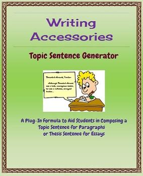coming up with a dissertation topic topic sentence generator free lesson and worksheets to