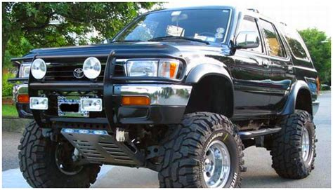 Painting 4runner Fender Flares by Toyota Extend A Fender Flare Set Of 4 Oe Matte Black
