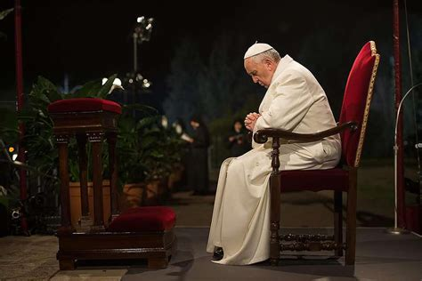 pope francis letter to dying read aloud at funeral