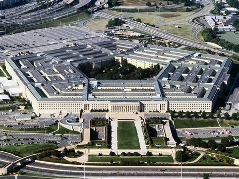 Photo Op The Pentagon by What Is Up With Those Pentagon Ufo Wired