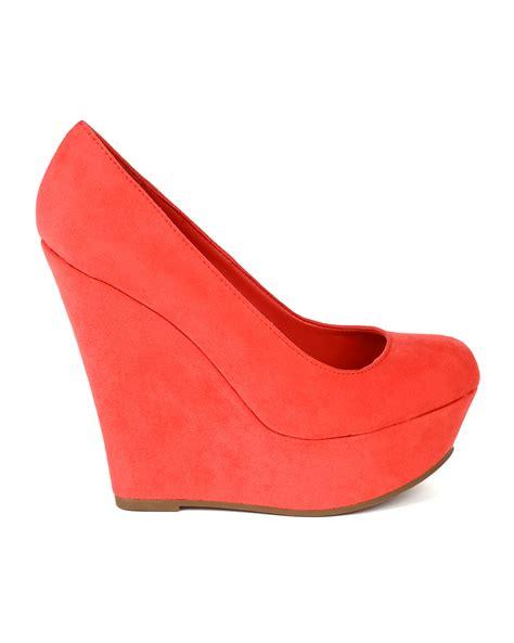 breckelle cilo 11s new suede toe platform