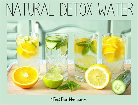 Do Herbal Detox Drinks Work by Detox Water Help To Flush Impurities Out Of Your