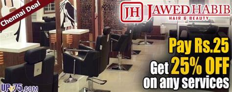 salon coupons chennai jawed habib egmore chennai salon deals coupons discounts