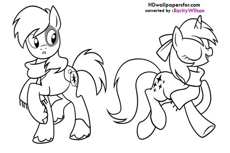 coloring pages   pony friendship  magic