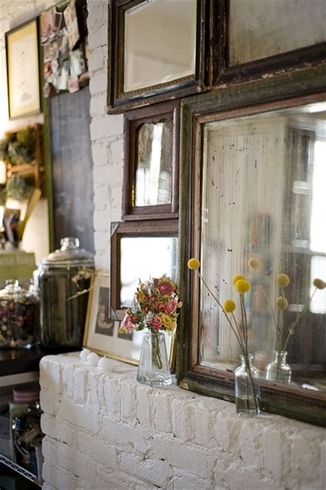 home decor objects mirrors home decor mirrors exposed bricks decor