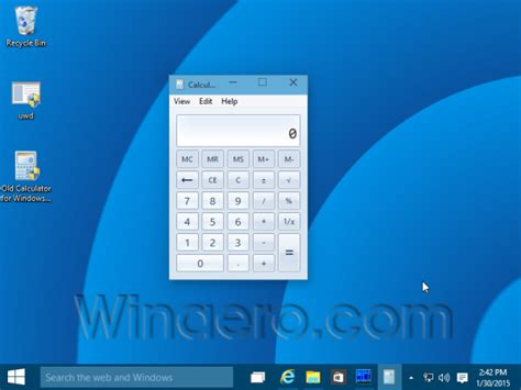 calculator for windows old windows 7 calculator for windows 10