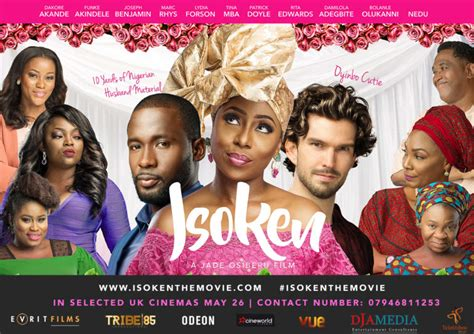 Of Leicester Mba Review by Nollywood Isoken To Premiere At Leicester Square In