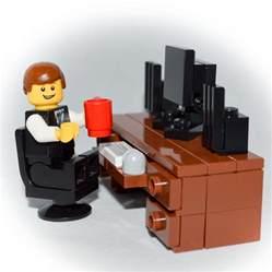 computer desk set lego furniture computer desk set w keyboard monitor