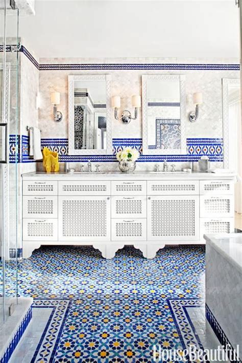moroccan bathroom tile moroccan tile design for the bathroom dream living