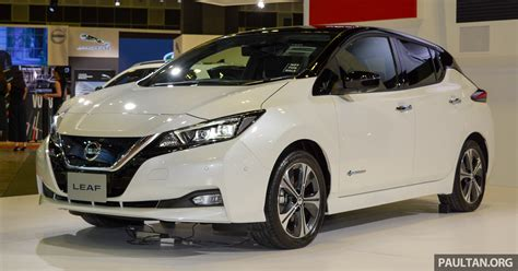gallery 2018 nissan leaf seen at singapore show