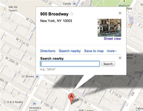 Find Nearby On Searching Nearby In The New Maps