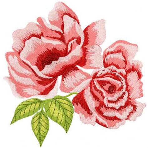 embroidery design rose flower flowers free machine embroidery designs machine