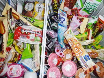 Harga Es Krim Merk Aice macam macam es krim yang ada di korea
