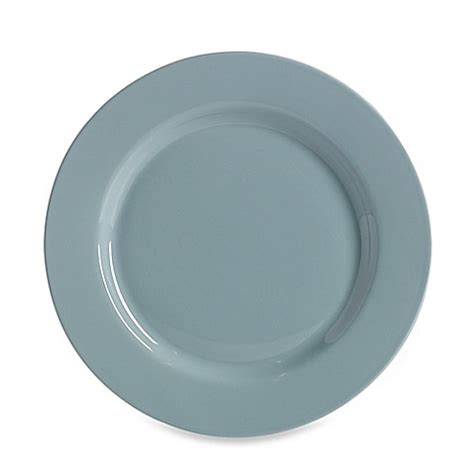 bed bath and beyond dinner plates buy real simple 174 dinner plate in stratford blue from bed