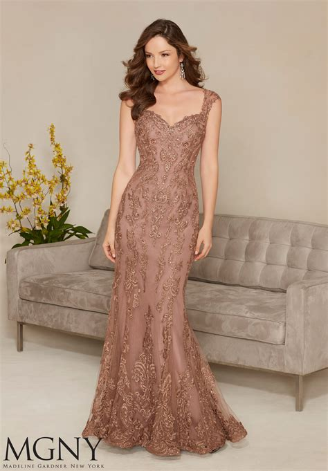 evening dresses for embroidered appliqu 233 s evening dress style 71314 morilee