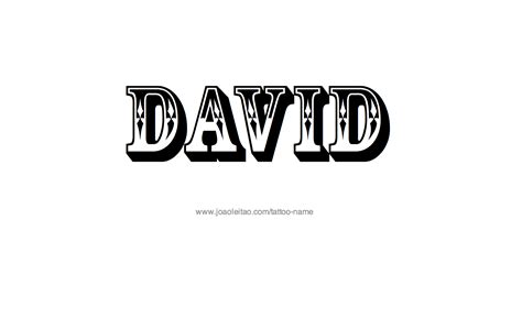david name tattoo designs name david designs pictures to pin on