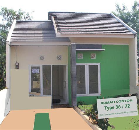 rumah minimalis modern contoh gambar rumah type 36 rumah minimalis terlaris