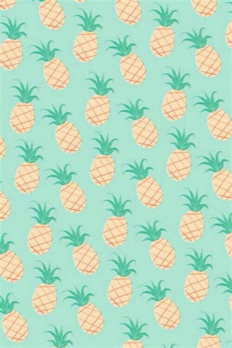 cute pattern iphone backgrounds background cute hipster iphone mint pastel pineapple