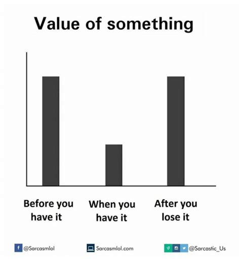 After Youd by Value Of Something Before You When You After You Lose It