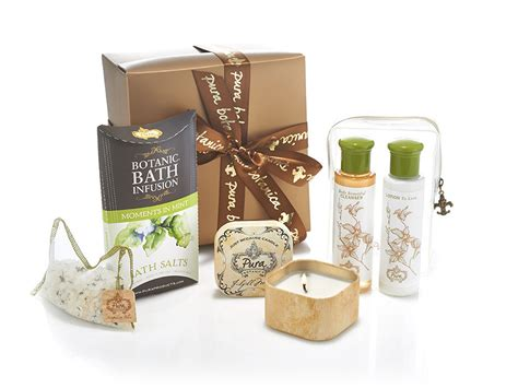 Gifts Sets - mint infused bath gift set