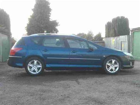 peugeot diesel estate cars for sale peugeot 407sw estate diesel 2006 car for sale