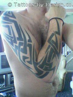 tattoo generator arm tribal arm tattoo